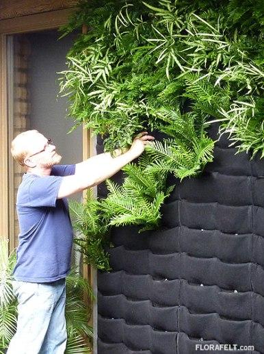 Chris Bribach Inventor of Florafelt