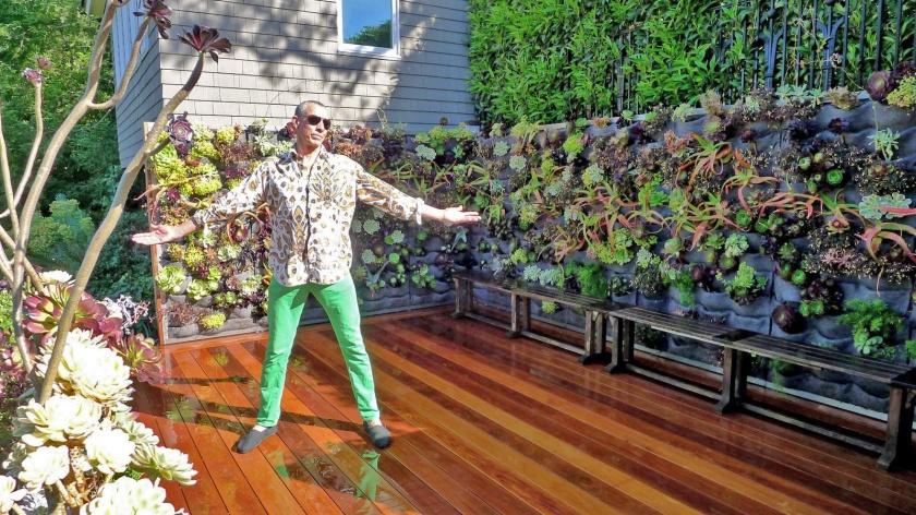 Davis Dalbok, Living Green Design. Florafelt Vertical Garden.
