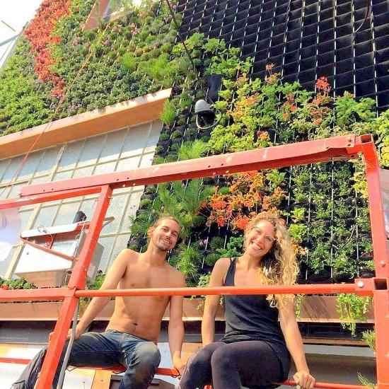 Brandon Pruett. Amanda Goldberg, Planted Design. Florafelt Pro System.