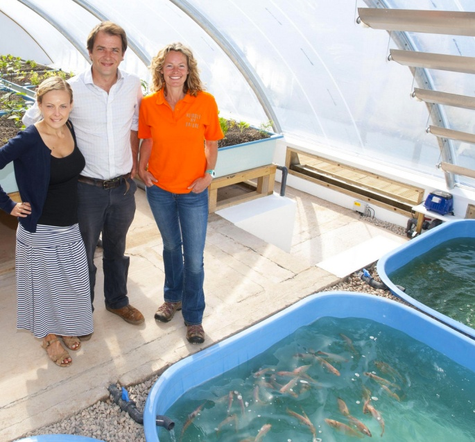 Aquaponics by Kate Humble, Humble by Nature UK.