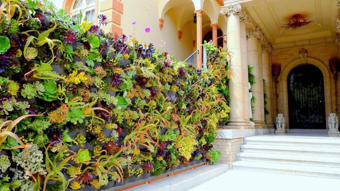 Florafelt Vertical Garden by Davis Dalbok, Living Green Design. Decorator Showcase 2012.