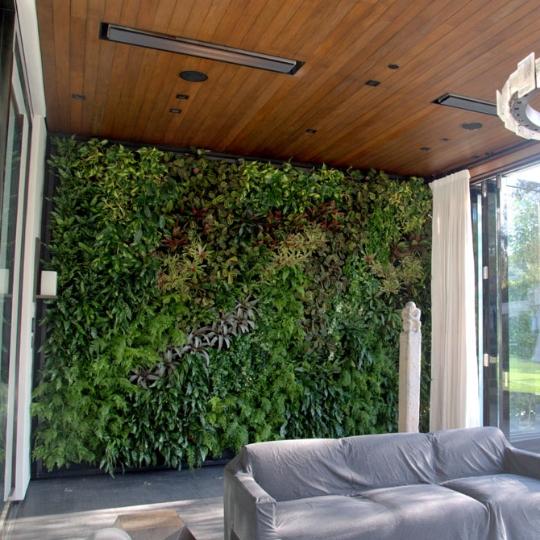 Florafelt Vertical Garden by Chris Bribach, Plants On Walls.